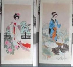 Sutra Lukisan Untuk Dekorasi Rumah Indah